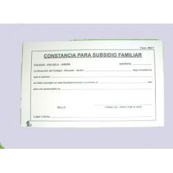 866 F SALARIO FAMILIAR       *