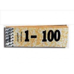 TALONARIO NUMEROS 1-100