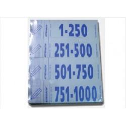 TALONARIO NUMEROS 1-1000