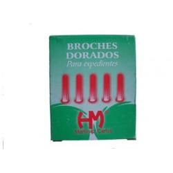BROCHES DORADOS N°12 X100