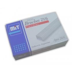 BROCHES MIT 21/6  X1000