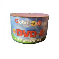 DVD -R 50 BULK 8X GLOBAL