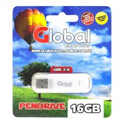 PENDRIVE USB 16GB GLOBAL