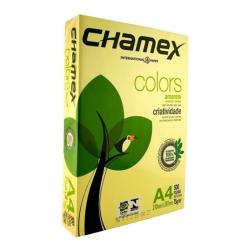 A4 AMARILLA 75 GRAMOS CHAMEX