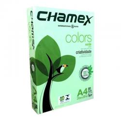 A4 VERDE 75 GRAMOS CHAMEX