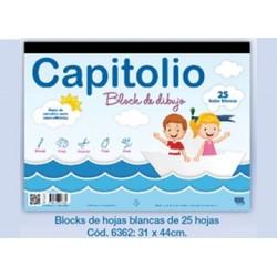 BLOCK CAPITOLIO BLANCO N°6...