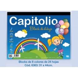 BLOCK CAPITOLIO NEGRO N°6...